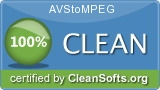 """100 % Clean"" Award from Cleansofts.org"