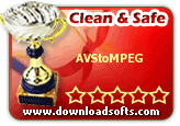 """Clean & Safe"" Award from downloadsofts.com"